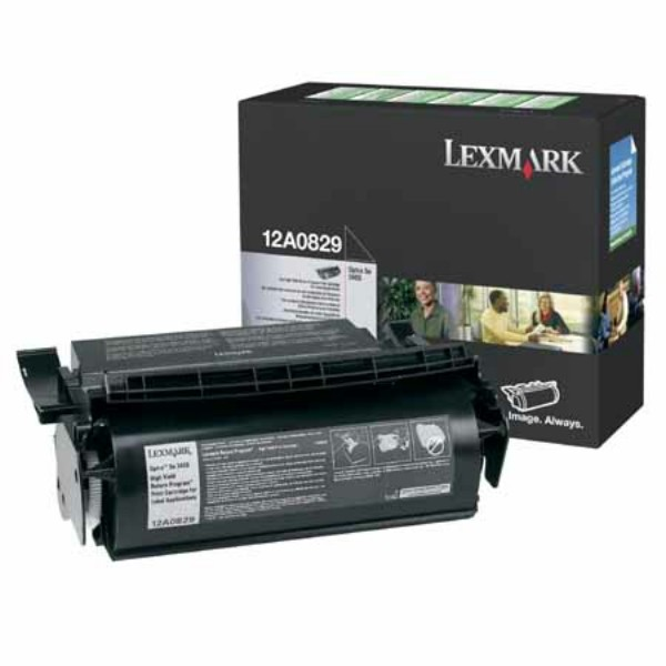 Lexmark Toner 12A0829 schwarz