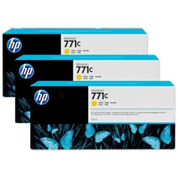 HP Tintenpatrone Nr. 771C gelb B6Y34A VE=3