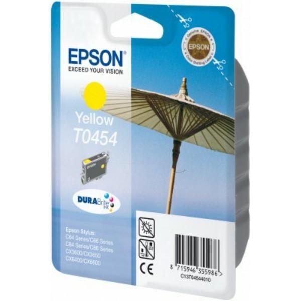 Epson Tintenpatrone T0454 gelb C13T04544010