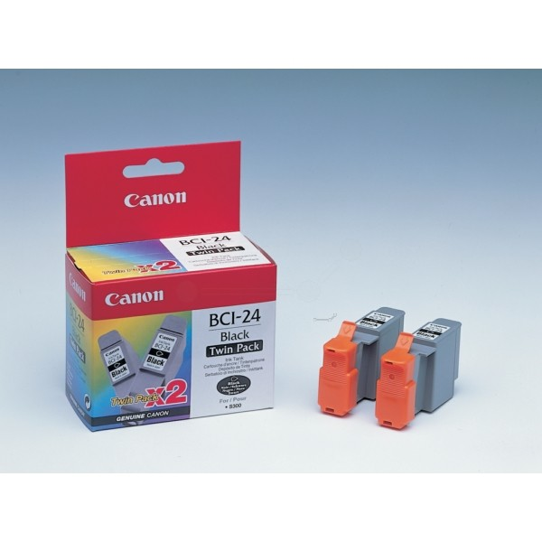 Canon Tintenpatrone BCI-24BK schwarz 6881A009 VE=2