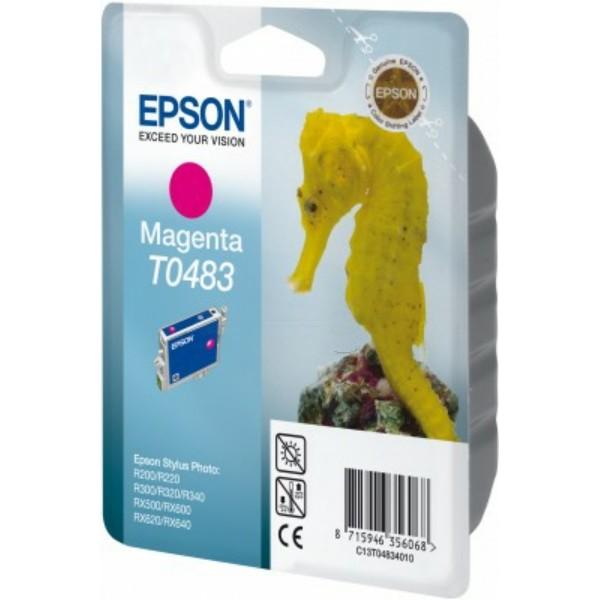 Epson Tintenpatrone T0483 magenta C13T04834010