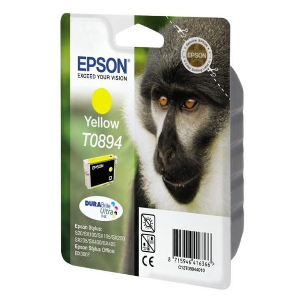 Epson Tintenpatrone T0894 gelb C13T08944010