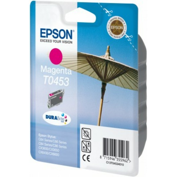 Epson Tintenpatrone T0453 magenta C13T04534010