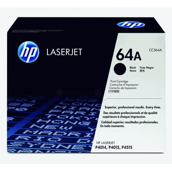 HP Toner 64A schwarz CC364A
