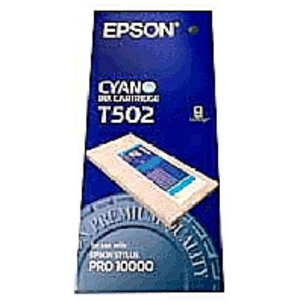 Epson Tintenpatrone T502 cyan C13T502011