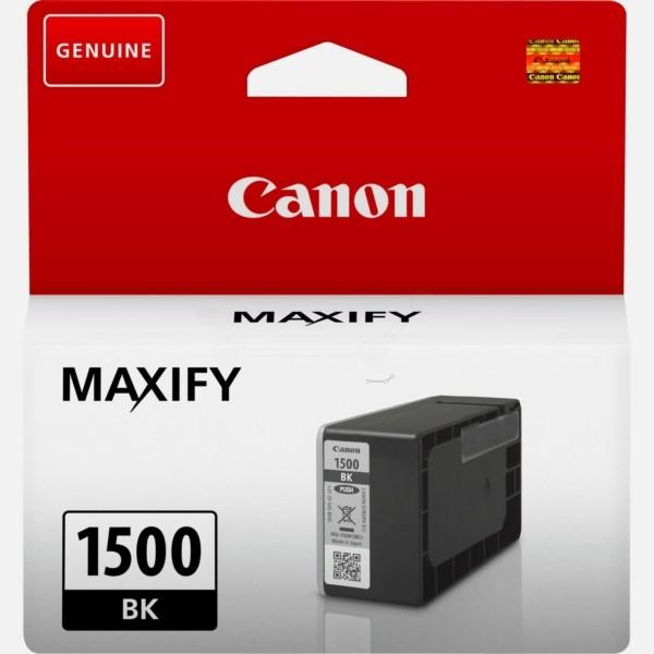 Canon Tintenpatrone PGI-1500BK schwarz 9218B001