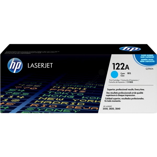 HP Toner 122A cyan Q3961A