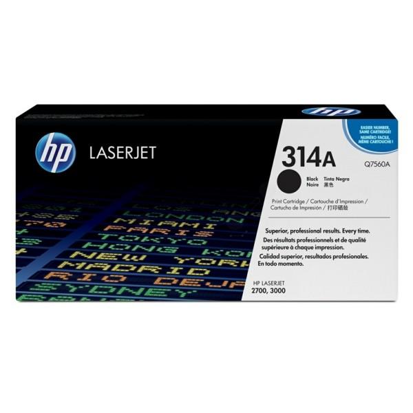 HP Toner 314A schwarz Q7560A