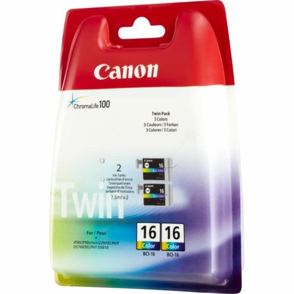 Canon Tintenpatrone BCI-16C color 9818A002 VE=2