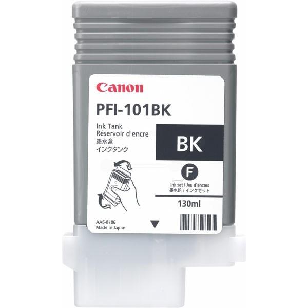 Canon Tintenpatrone PFI-101BK schwarz 0883B001