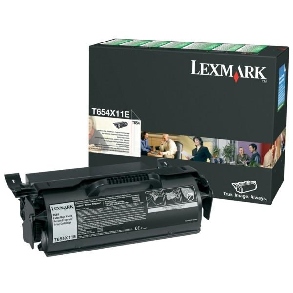 Lexmark Toner T654X11E schwarz