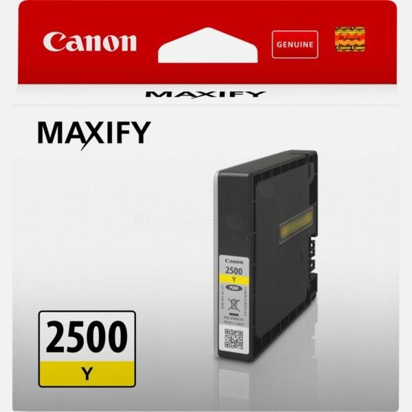Canon Tintenpatrone PGI-2500Y gelb 9303B001