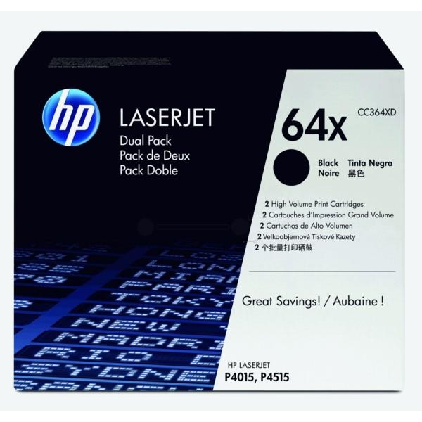 HP Toner 64XD schwarz CC364XD VE=2