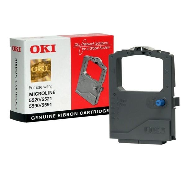 OKI Nylonband 01126301 schwarz