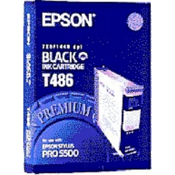 Epson Tintenpatrone T486 schwarz C13T486011