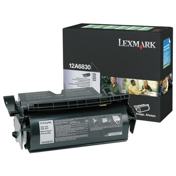 Lexmark Toner 12A6830 schwarz