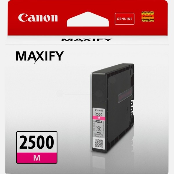 Canon Tintenpatrone PGI-2500M magenta 9302B001