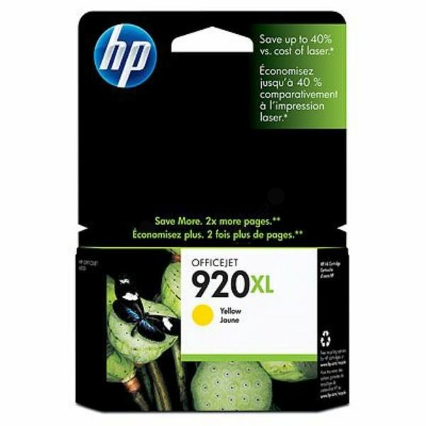 HP Tintenpatrone Nr. 920XL gelb CD974AE