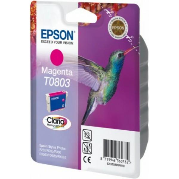 Epson Tintenpatrone T0803 magenta C13T08034010