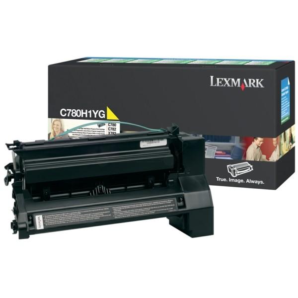 Lexmark Toner C780H1YG gelb