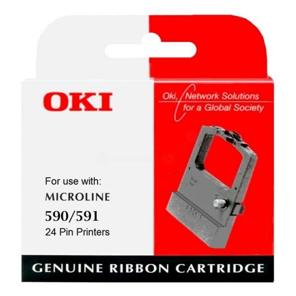 OKI Nylonband 09002316 schwarz