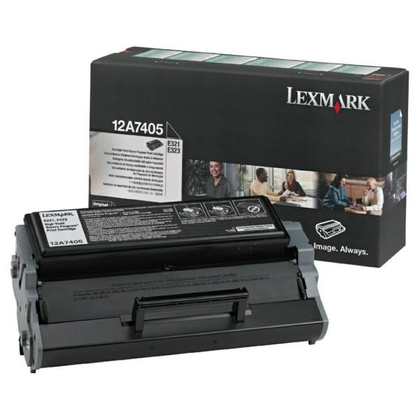 Lexmark Toner 12A7405 schwarz