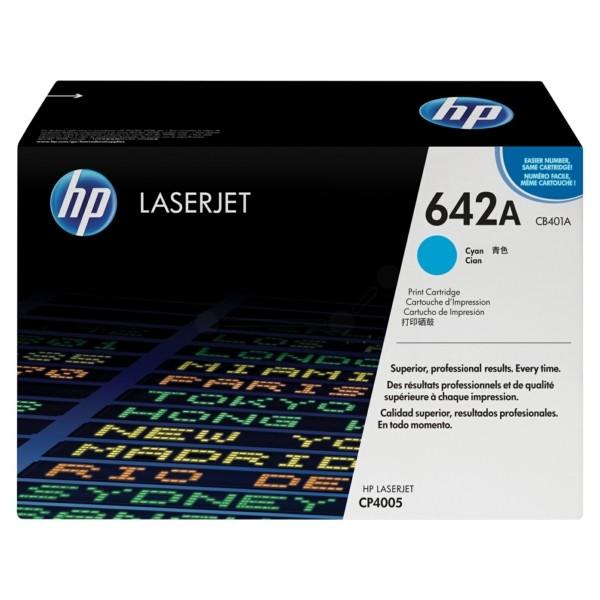 HP Toner 642A cyan CB401A