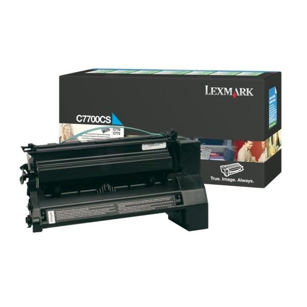 Lexmark Toner C7700CS cyan