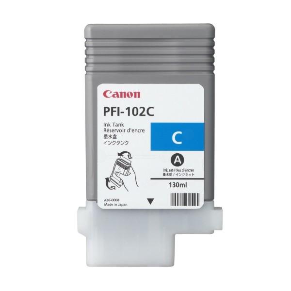 Canon Tintenpatrone PFI-102C cyan 0896B001