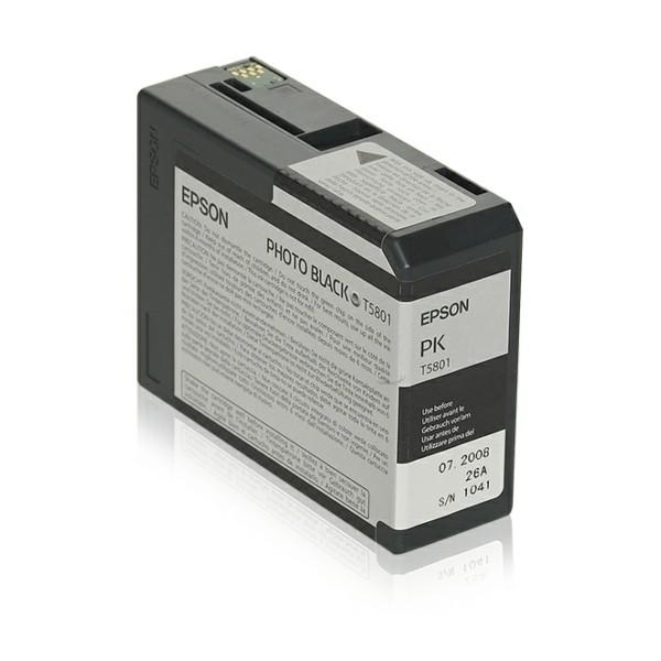 Epson Tintenpatrone T5801 schwarz C13T580100