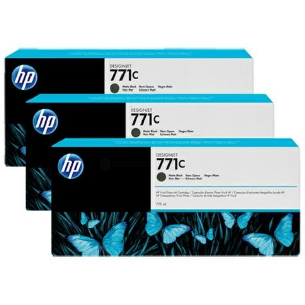 HP Tintenpatrone Nr. 771C schwarz matt B6Y31A VE=3