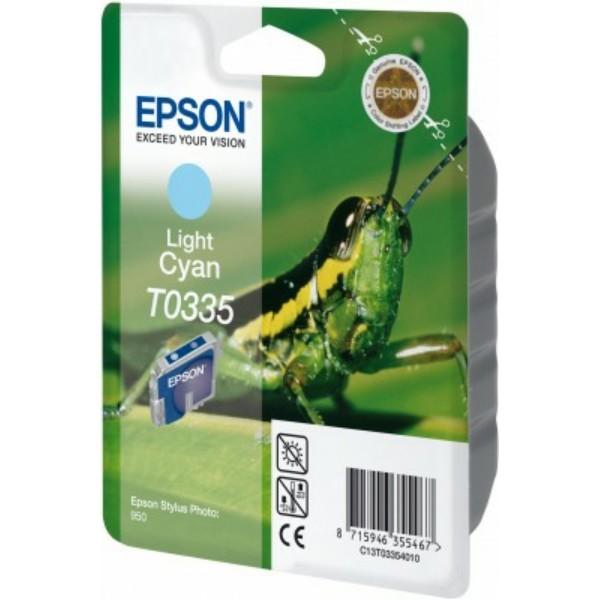 Epson Tintenpatrone T0335 cyan hell C13T03354010