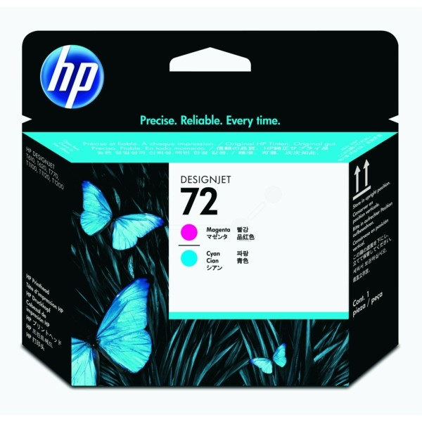 HP Druckkopf Nr. 72 magenta + cyan C9383A