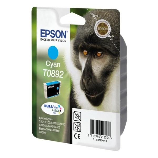 Epson Tintenpatrone T0892 cyan C13T08924010