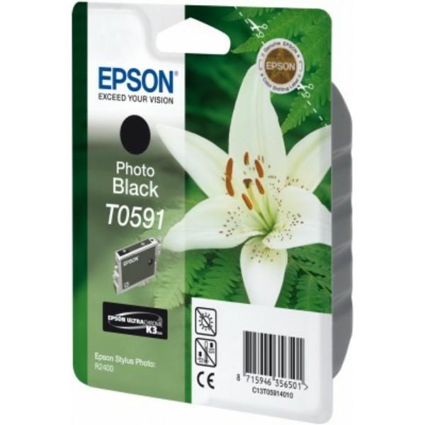 Epson Tintenpatrone T0591 schwarz C13T05914010
