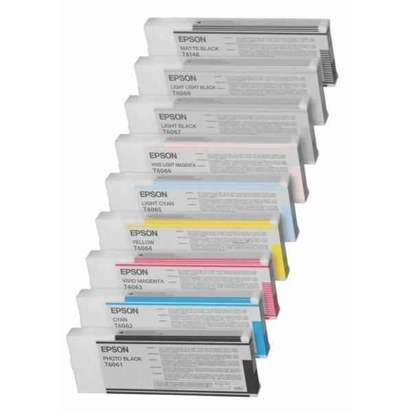 Epson Tintenpatrone T6144 gelb C13T614400