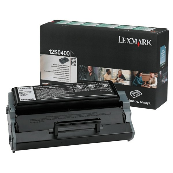 Lexmark Toner 12S0400 schwarz