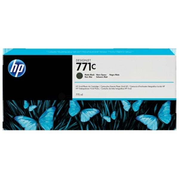 HP Tintenpatrone Nr. 771C schwarz matt B6Y07A