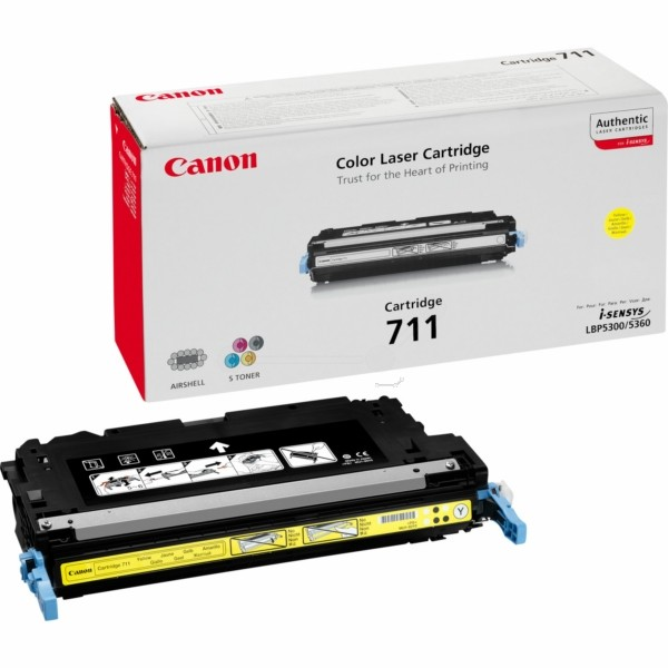 Canon Toner 711Y gelb 1657B002