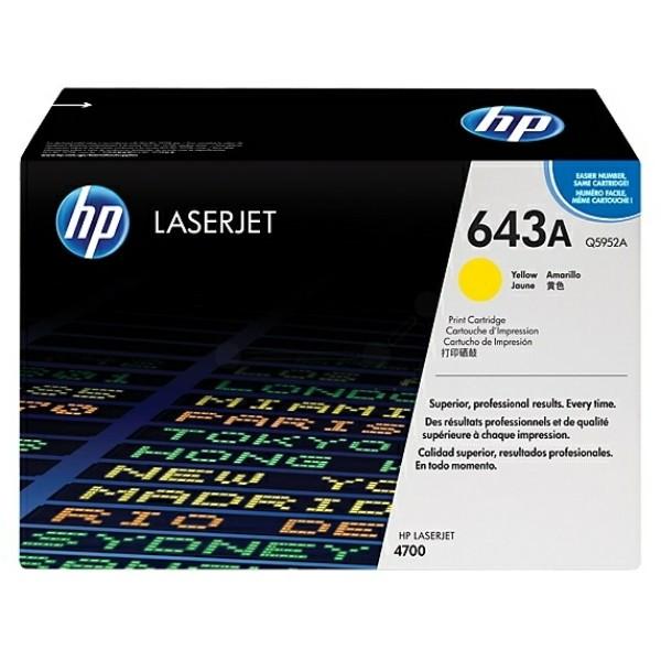 HP Toner 643A gelb Q5952A