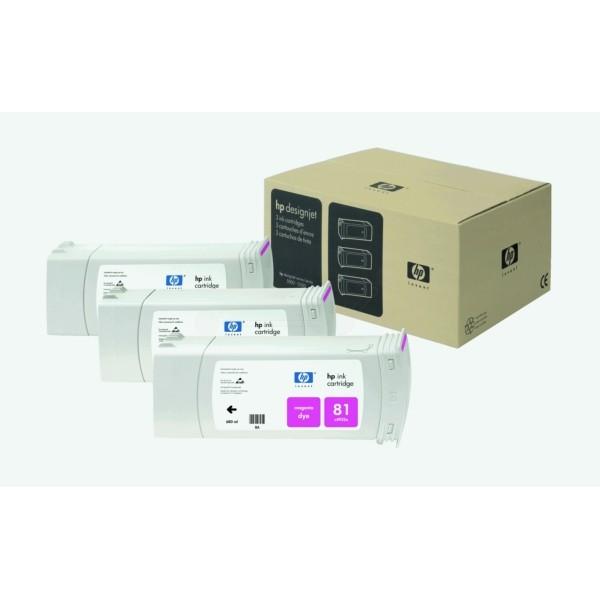 HP Tintenpatrone Nr. 81 magenta C5068A