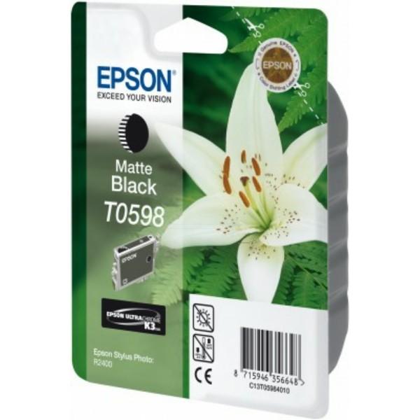 Epson Tintenpatrone T0598 schwarz matt C13T05984010