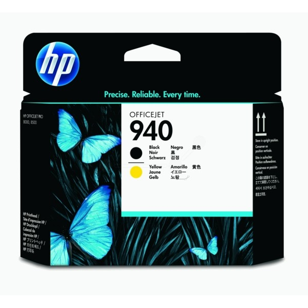 HP Druckkopf Nr. 940 schwarz+gelb C4900A