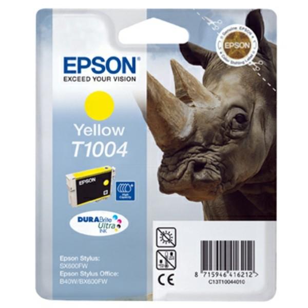 Epson Tintenpatrone T1004 gelb C13T10044010