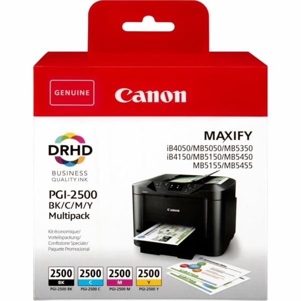 Canon Tintenpatrone PGI-2500 BK,C,M,Y 9290B004 MultiPack