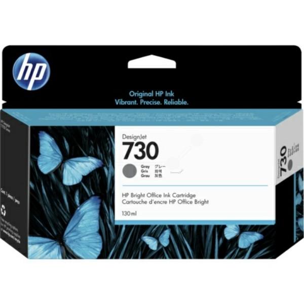 HP Tintenpatrone Nr. 730 grau P2V66A