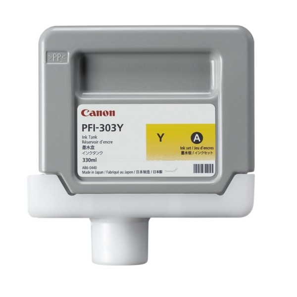Canon Tintenpatrone PFI-303Y gelb 2961B001