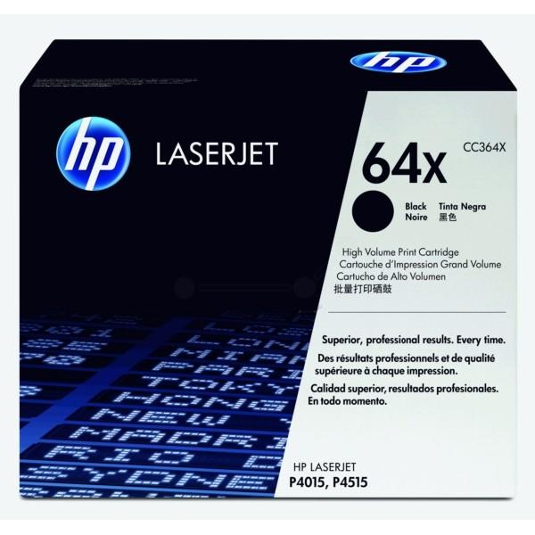 HP Toner 64X schwarz CC364X