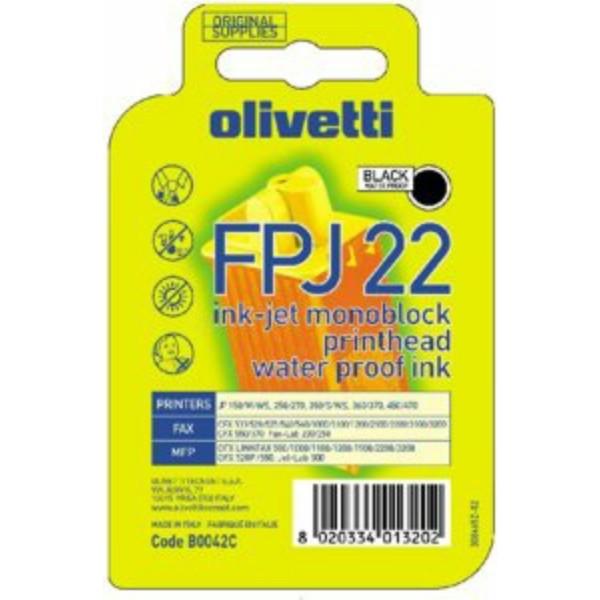 Olivetti Tintenpatrone B0042 super-schwarz FPJ 22