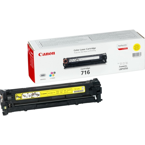 Canon Toner 716Y gelb 1977B002